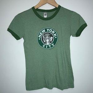 SALE New York City Starbucks Inspired Shirt 279
